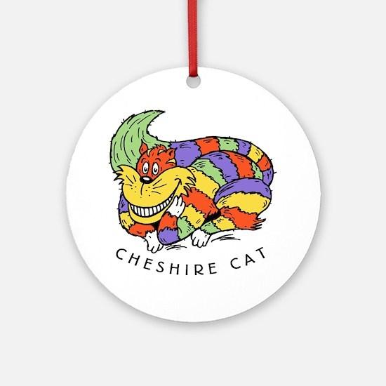 Cheshire Cat Ornament (Round)