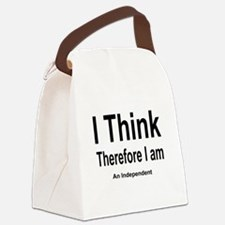 Funny Free thinker Canvas Lunch Bag