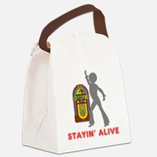 Stayin' Alive Canvas Lunch Bag