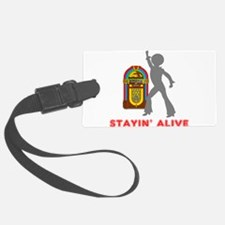 Stayin' Alive Luggage Tag