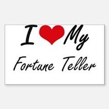 I love my Fortune Teller Decal
