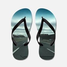 Cute Turnpikes Flip Flops