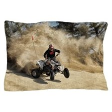 Funny Road and track off road Pillow Case