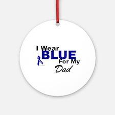 I Wear Blue 3 (Dad CC) Ornament (Round)