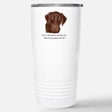 Unique Chocolate labrador retriever Travel Mug