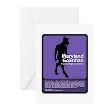 Maryland Goatman Greeting Cards (Pk of 10)