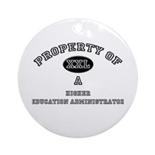 Property of a Higher Education Administrator Ornam