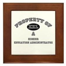 Property of a Higher Education Administrator Frame