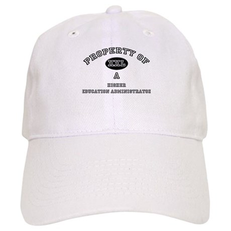 Property of a Higher Education Administrator Cap