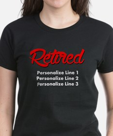 Retired Custom Tee