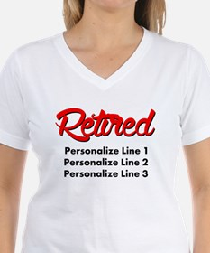 Retired Custom Shirt