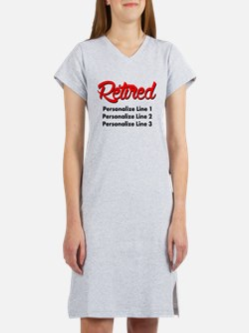 Retired Custom Women's Nightshirt