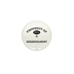 Property of a Heresiologist Mini Button (10 pack)