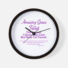 Cute That grace Wall Clock