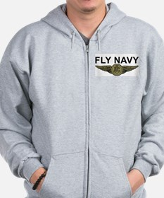 Funny Rescue swimmer Zip Hoodie