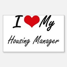I love my Housing Manager Decal
