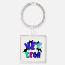 Cute Veterinary technician Square Keychain
