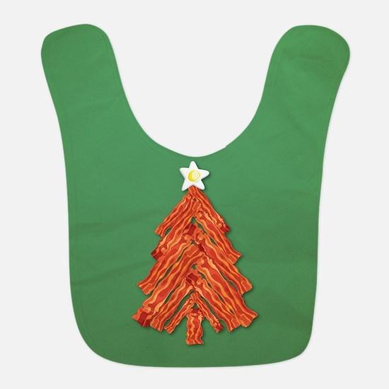 Bacon Christmas Tree Bib