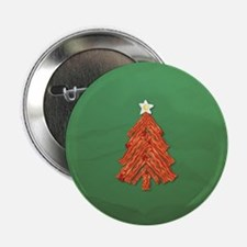 """Bacon Christmas Tree 2.25"""" Button (10 pack)"""