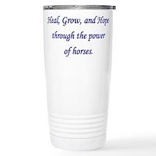Funny Horse power Travel Mug