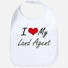 I love my Land Agent Bib