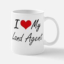 I love my Land Agent Mugs
