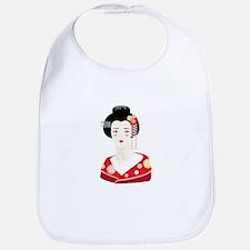 Japanese Geisha Bib