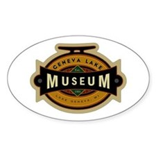 Sticker featuring Geneva Lake Museum logo