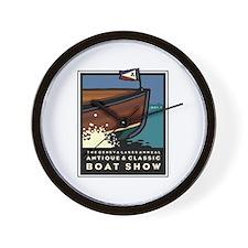 Lake Geneva Classic Boat Show Wall Clock
