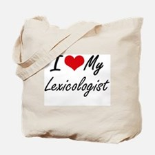 I love my Lexicologist Tote Bag