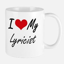 I love my Lyricist Mugs