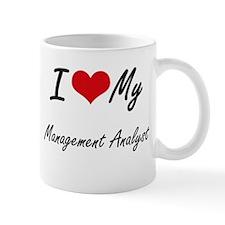 I love my Management Analyst Mugs