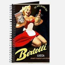 Vintage Bertolli Advertisement Journal
