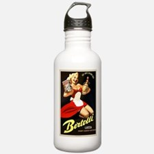 Vintage Bertolli Advertisement Water Bottle