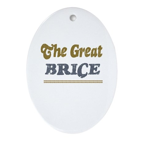 Brice Oval Ornament