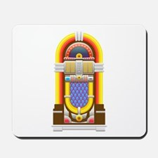 50s jukebox Mousepad