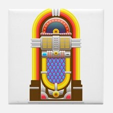 50s jukebox Tile Coaster
