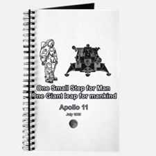 Space travel Man and Moon Journal