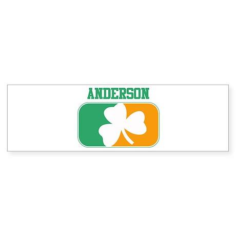 ANDERSON irish Bumper Sticker
