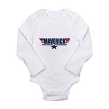 Unique Maverick Long Sleeve Infant Bodysuit