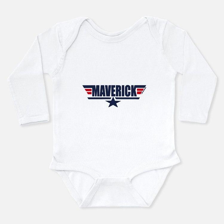 Cute Barracuda palin Long Sleeve Infant Bodysuit