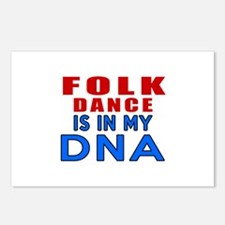 Folk dance is in my DNA Postcards (Package of 8)