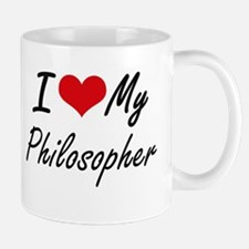 I love my Philosopher Mugs