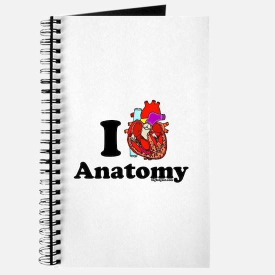 I Love (Heart) Anatomy Journal