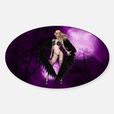BLACK SWAN Oval Decal