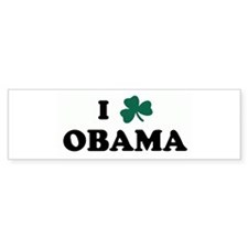 I Shamrock OBAMA Bumper Bumper Bumper Sticker
