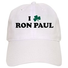 I Shamrock RON PAUL Baseball Cap
