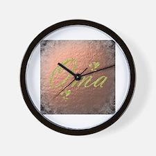 Cute Senior Wall Clock