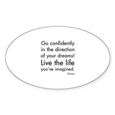 Go Confidently Decal