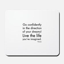 Go Confidently Mousepad